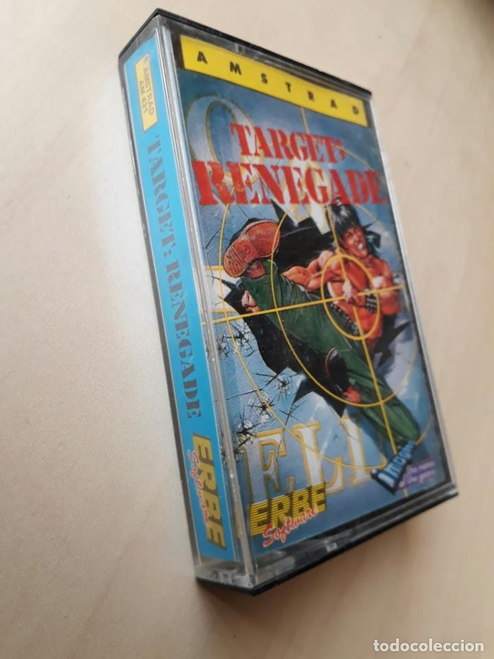 AMSTRAD JUEGO K7 -TARGET RENEGADE- VINTAGE 80S/MITICO (Juguetes - Videojuegos y Consolas - Amstrad)