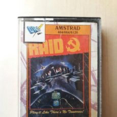 Videojuegos y Consolas: AMSTRAD JUEGO K7 -RAID- VINTAGE 80S/MITICO. Lote 158954166