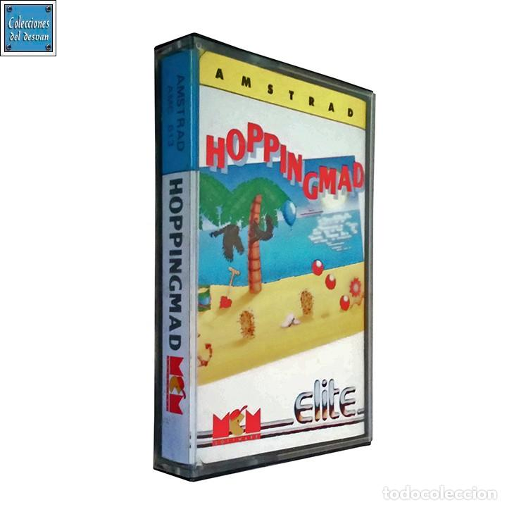 HOPPING MAD / HOPPINGMAD / JUEGO AMSTRAD CPC CINTA / ESPAÑOL / ELITE MCM 1988 (Juguetes - Videojuegos y Consolas - Amstrad)