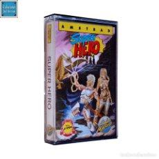 Videojuegos y Consolas: SUPER HERO / JUEGO AMSTRAD CPC CINTA / ESPAÑOL / CODEMASTERS ERBE 1989. Lote 160242262