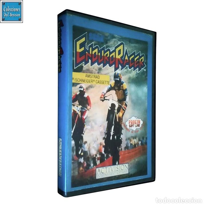 ENDURO RACER / JUEGO AMSTRAD CPC CINTA / ESPAÑOL / ACTIVISION 1987 (Juguetes - Videojuegos y Consolas - Amstrad)