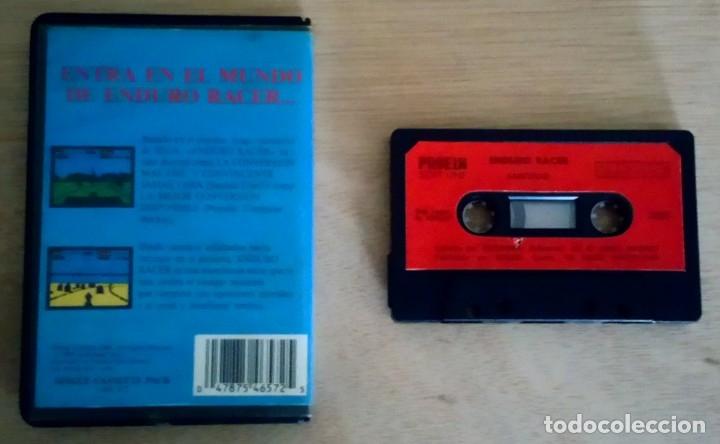 Videojuegos y Consolas: Enduro Racer / Juego Amstrad CPC Cinta / Español / Activision 1987 - Foto 2 - 73882387