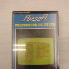 Videojuegos y Consolas: JUEGO AMSTRAD/PROCESADOR DE TEXTO.. Lote 160800330