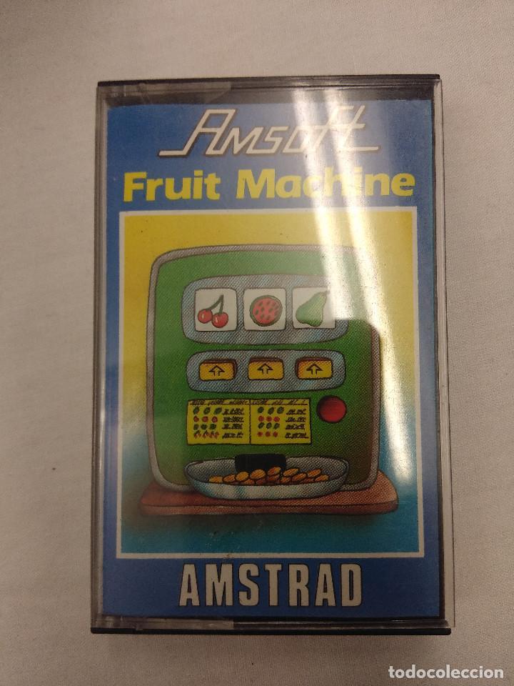 JUEGO AMSTRAD/FRUIT MACHINE. (Juguetes - Videojuegos y Consolas - Amstrad)