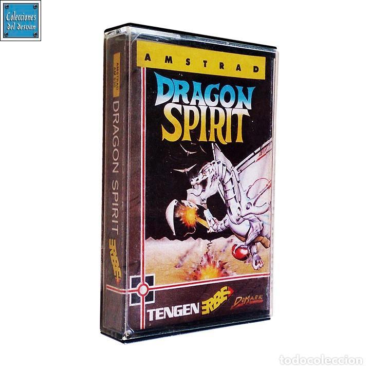DRAGON SPIRIT / JUEGO AMSTRAD CPC CINTA / ESPAÑOL / ERBE 1989 (Juguetes - Videojuegos y Consolas - Amstrad)