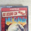 Videojuegos y Consolas: MIKE GUNNER-AMSTRAD CASSETTE-DINAMIC-AÑO 1989-PRECINTADO SIN USAR. Lote 161380306