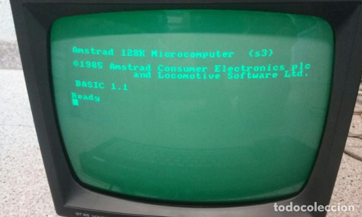 Videojuegos y Consolas: ORDENADOR COMPUTADORA AMSTRAD 128K - TECLADO CPC 6128 + MONITOR GT 65 -BUEN ESTADO DE CONSERVACIÓN- - Foto 8 - 82210856
