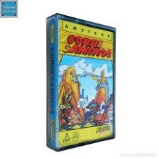 Videojuegos y Consolas: CORRECAMINOS / JUEGO AMSTRAD CPC CINTA / ESPAÑOL / ATARI ERBE 1987. Lote 162464186