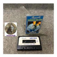 Videojuegos y Consolas: JUEGO AMSOFT AMSTRAD *ALMIRANTE GRAF SPEE* .... CASSETTE.. Lote 162651818