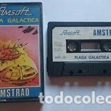 Videojuegos y Consolas: CASSETTE AMSOFT AMSTRAD *PLAGA GALÁCTICA* .... CASSETTE.. Lote 162652558