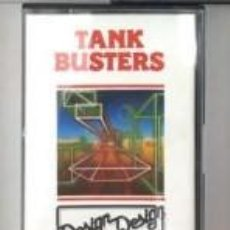 Videojuegos y Consolas: CASSETTE AMSTRAD *TANK BUSTERS* .... CASSETTE.. Lote 162654074