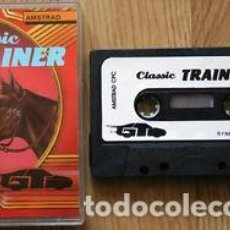 Videojuegos y Consolas: CASSETTE AMSTRAD *CLASSIC TRAINER* .... CASSETTE.. Lote 162654442