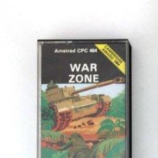 Videojuegos y Consolas: CASSETTE AMSTRAD *WAR ZONE* .... CASSETTE.. Lote 162803578