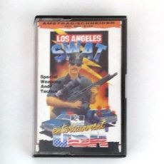 Videojuegos y Consolas: CASSETTE AMSTRAD *LOS ANGELES SWAT* .... CASSETTE.. Lote 162803882