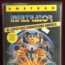 Videojuegos y Consolas: JUEGO AMSTRAD INFILTRATOR. Lote 163099238
