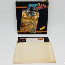 Videojuegos y Consolas: JUEGO PC ERBE DISCO 5 1/4 GAUNTLET. Lote 163692078