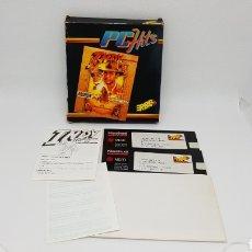 Videojuegos y Consolas: JUEGO PC ERBE DISCO 5 1/4 INDIANA JONES Y LA ULTIMA CRUZADA. Lote 163696286
