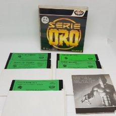 Videojuegos y Consolas: JUEGO PC ERBE DISCO 5 1/4 SERIE ORO METAL MUTANT CRISTAL OF ARBOREA Y BOSTON BOMB CLUB. Lote 163719586