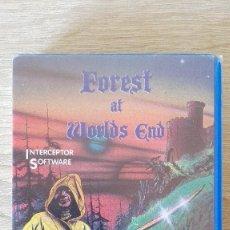 Videojuegos y Consolas: THE FOREST AT WORLD,S END-AMSTRAD CASSETTE-ESTUCHE AZUL-INTERCEPTOR SOFT-AÑO 1984-NUEVO EXCELENTE. Lote 164699326