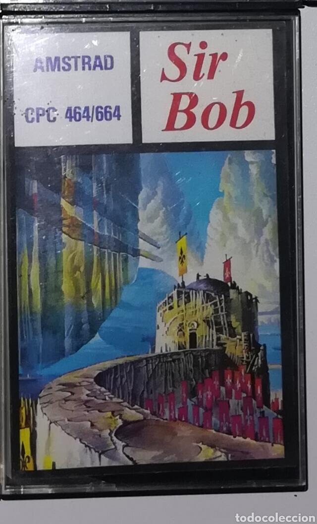 SIR BOB AMSTRAD (Juguetes - Videojuegos y Consolas - Amstrad)