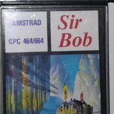 Videojuegos y Consolas: SIR BOB AMSTRAD. Lote 165416266