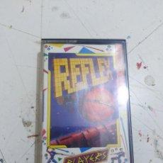 Videojuegos y Consolas: JUEGO CASETTE AMSTRAD 464 664 6128 REFLEX . Lote 166640042