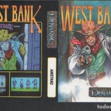 Videojuegos y Consolas: WEST BANK CARÁTULA ORIGINAL VÍDEO-JUEGO AMSTRAD SIN USAR DE AZPIRI DINAMIC. Lote 211414232