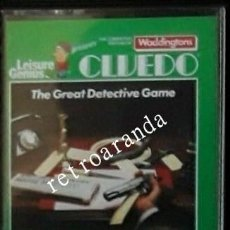 Videojuegos y Consolas: JUEGO AMSTRAD CPC *CLUEDO* .... BUEN ESTADO - PAL UK.. Lote 167552464