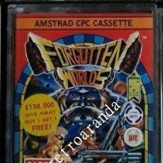 Videojuegos y Consolas: JUEGO AMSTRAD CPC *FORGOTTEN WORLDS* .... BUEN ESTADO - PAL UK.. Lote 167552652