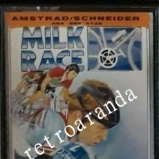 Videojuegos y Consolas: JUEGO AMSTRAD CPC *MILK RACE* .... BUEN ESTADO - PAL UK.. Lote 238246335