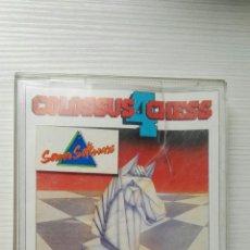 Videojuegos y Consolas: COLOSSUS CHESS 4 SERMA SOFTWARE AMSTRAD CINTA. Lote 167772684