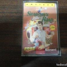 Videogiochi e Consoli: ANTIGUO JUEGO ORDENADOR CASETE AMSTRAD SHAO LIN´S ROAD. Lote 167841136