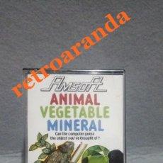 Videojuegos y Consolas: JUEGO AMSTRAD CPC *ANIMAL VEGETABLE MINERAL* .... BUEN ESTADO - PAL UK.. Lote 167885828