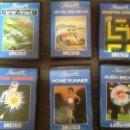 Videojuegos y Consolas: LOTE 6 JUEGOS DIFERENTES AMSTRAD CASETE CONSOLA AMSOFT. CAJA ACOLCHADA. Lote 167972096