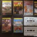 Videojuegos y Consolas: LOTE 11 JUEGOS DIFERENTES CASETE AMSTRAD CONSOLA.. Lote 167972268