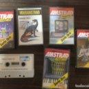 Videojuegos y Consolas: LOTE 6 JUEGOS DIFERENTES AMSTRAD CASETE CONSOLA. Lote 167972360