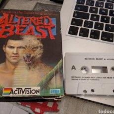 Videojuegos y Consolas: ALTERED BEAST JUEGO CASSETTE 1989. Lote 168337316