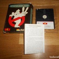 Jeux Vidéo et Consoles: CAZAFANTASMAS II, AMSTRAD ACTIVISION, CON MANUAL DE USUARIO. FORMATO DISCO. Lote 168621488