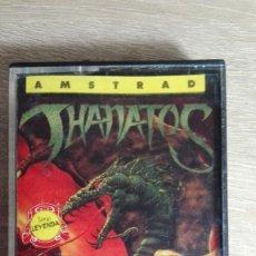 Videojuegos y Consolas: THANATOS-AMSTRAD CASSETTE-DURELL SOFTWARE-AÑO 1986-BUEN ESTADO-DIFÍCIL. Lote 170923720