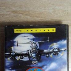 Videojuegos y Consolas: NIGHT RAIDER-AMSTRAD CASSETTE-ESTUCHE NEGRO ALMEJA XL-GREMLIN-AÑO 1988-MUY DIFÍCIL.. Lote 170925330