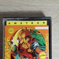 Videojuegos y Consolas: KUNG-FU MASTER-AMSTRAD CASSETTE-DATA EAST-AÑO 1986-COMO NUEVO. Lote 170933825