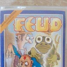 Videojuegos y Consolas: FEUD-AMSTRAD CASSETTE-BULLDOG-AÑO 1987-ARCADE-BUEN ESTADO. Lote 170947620