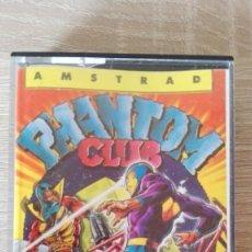 Videojuegos y Consolas: PHANTOM CLUB-AMSTRAD CASSETTE-OCEAN-AÑO 1987-INCLUYE 5 MAPAS.VER.ESPAÑOLA-MUY BUEN ESTADO.. Lote 171245853