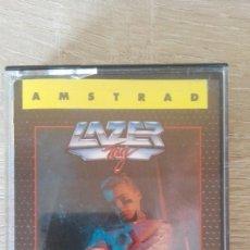 Videojuegos y Consolas: LAZER TAG-AMSTRAD CASSETTE-BY GO-AÑO 1988-V.ESPAÑA-COMO NUEVO.. Lote 171251384