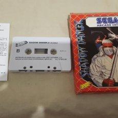 Videojuegos y Consolas: SHADOW DANCER AMSTRAD CINTA. Lote 171305387