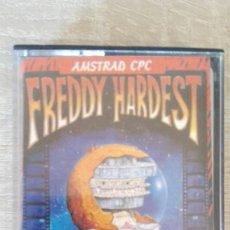 Videojuegos y Consolas: FREDDY HARDEST-AMSTRAD CASSETTE-DINAMIC-AÑO 1987-EDICIÓN ESPAÑOLA.. Lote 171756222