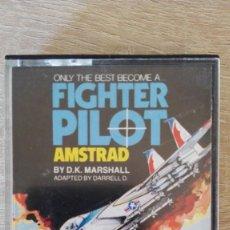 Videojuegos y Consolas: FIGHTER PILOT-AMSTRAD CASSETTE-DIGITAL INTEGRATION-AÑO 1984-VERSIÓN INGLESA-MUY BUEN ESTADO.. Lote 171762524