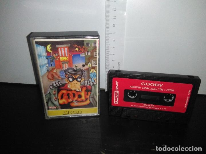 JUEGO CINTA CASSETTE GOODY AMSTRAD (Juguetes - Videojuegos y Consolas - Amstrad)