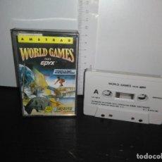 Videojuegos y Consolas: JUEGO CINTA CASSETTE WORLD GAMES AMSTRAD . Lote 171845044