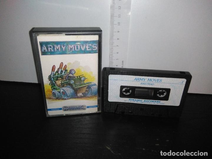 JUEGO CINTA CASSETTE ARMY MOVE AMSTRAD (Juguetes - Videojuegos y Consolas - Amstrad)